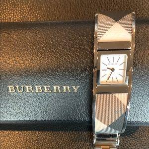 Burberry Ladies Swiss Quartz Check Watch